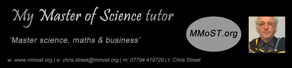 MyMasterOfScienceTutor.education